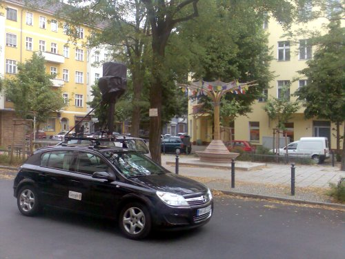 Google streetview car Richardkiez