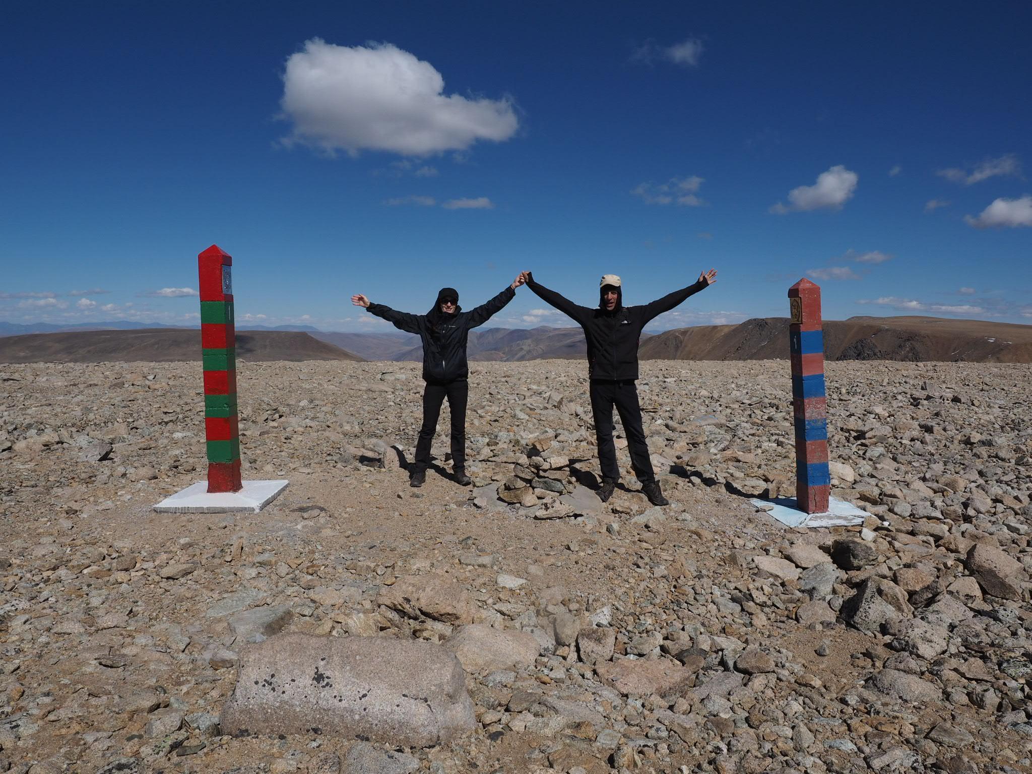 Grenzgebiet Russland - Mongolei - China - Kasachstan