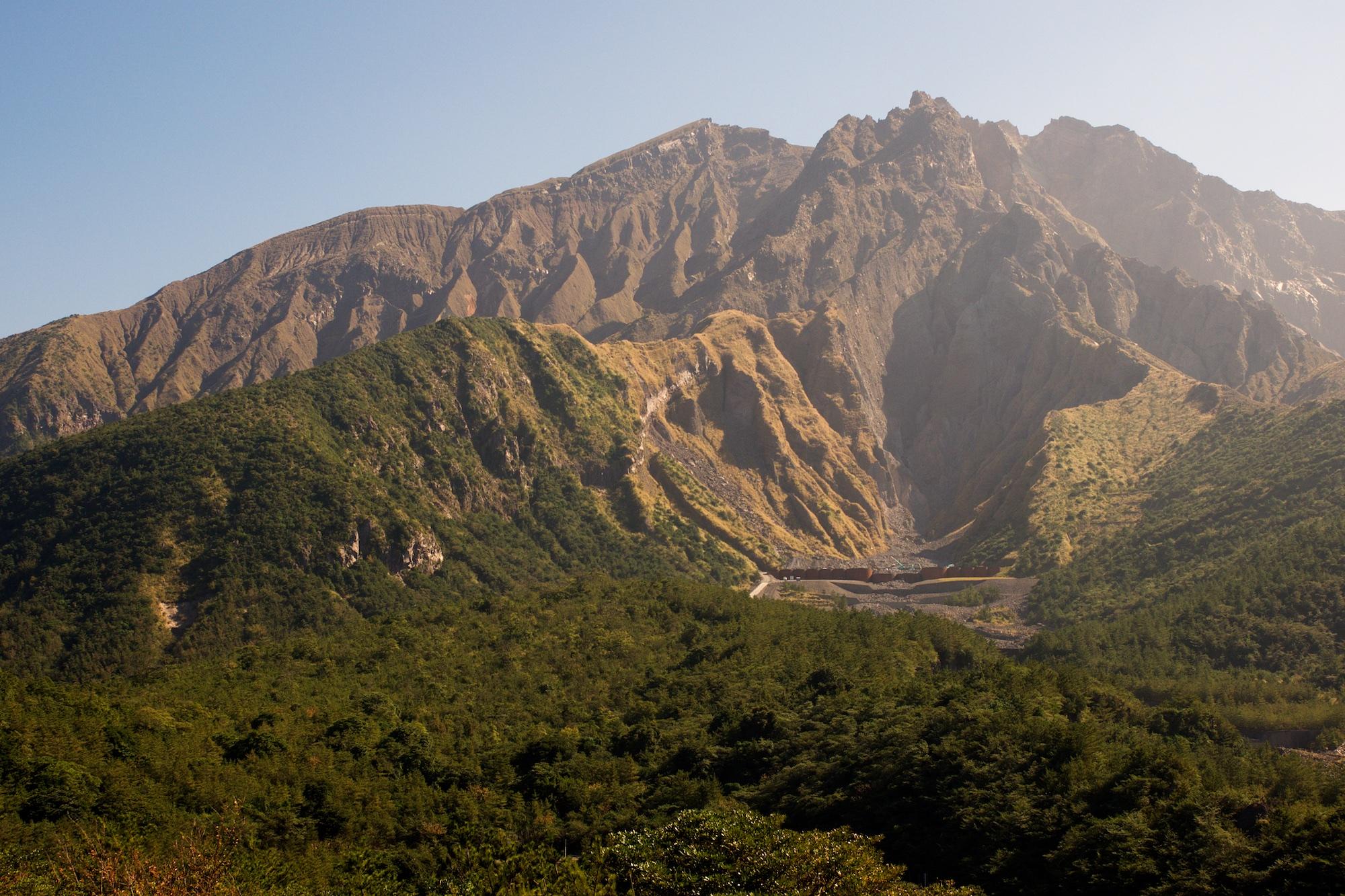 Mt Sakurajima