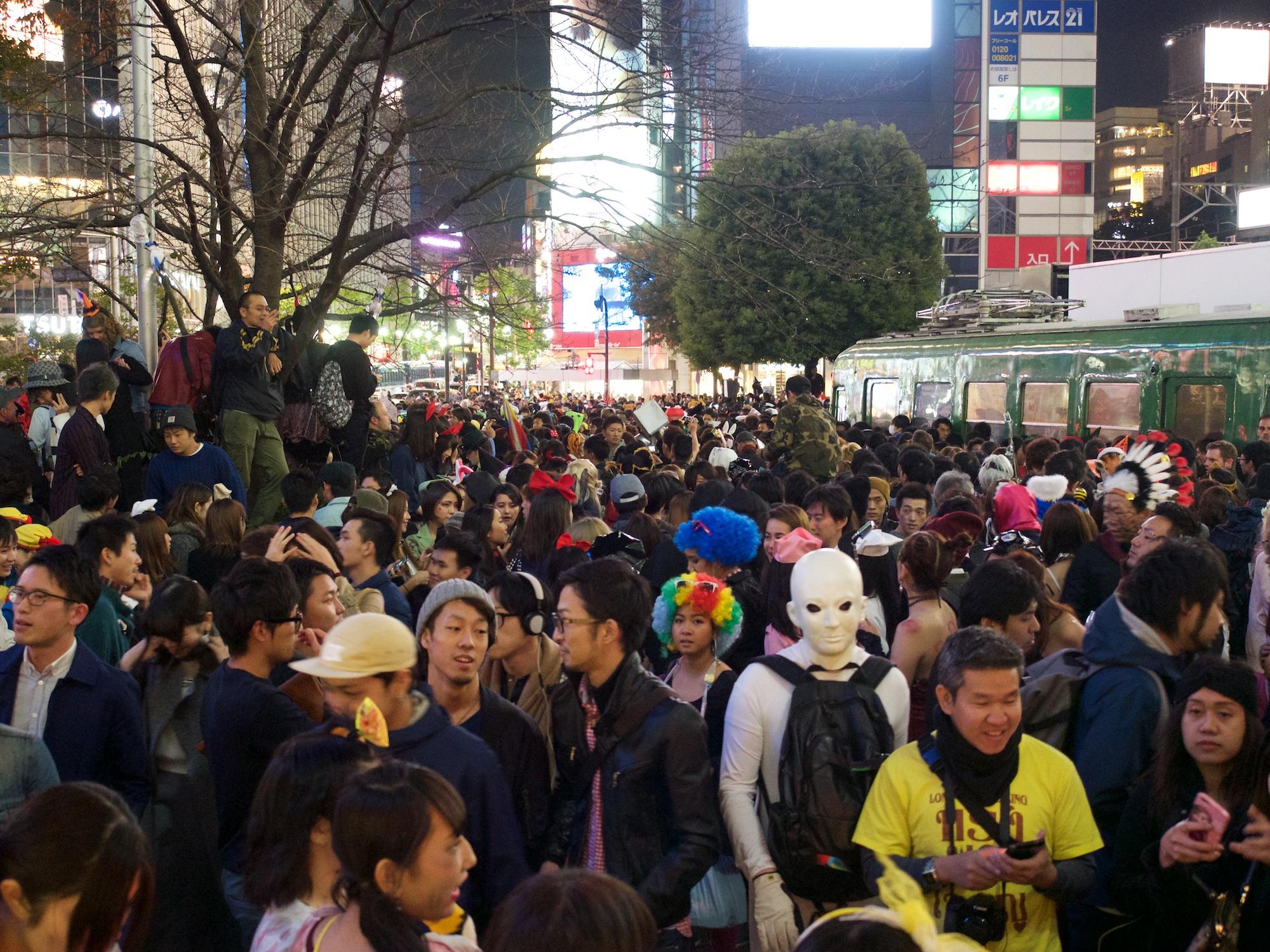 Helloween in Shibuya