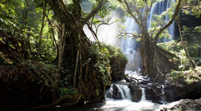 Wasserfall auf dem Bolaven-Plateau