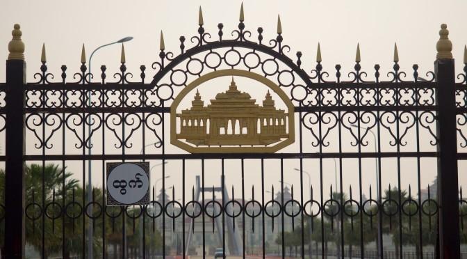 Drei burmesische Hauptstädte