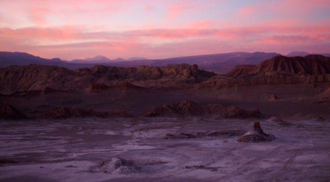 Dünne Luft und Salz in der Atacama