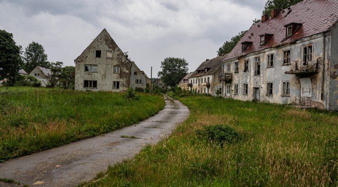 Die Ruinenstadt auf der Halbinsel Wustrow